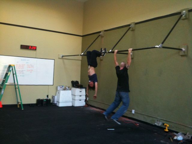 build your own backyard pull up bar